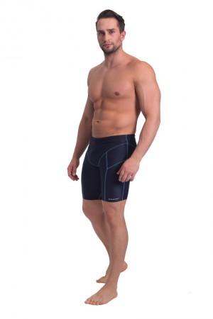 Pánské plavky - boxerky BD 377 - SESTO SENSO color: tmavě modrá, size: 2XL