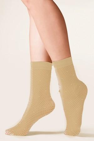 Dámské ponožky 689 Viva beige béžová Univerzální