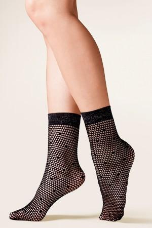 Dámské ponožky 689 Viva nero Nero Univerzální