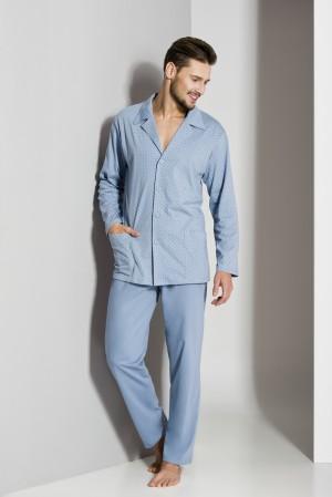 Pánské pyžamo Regina 265A dl/r 2XL-3XL '18
