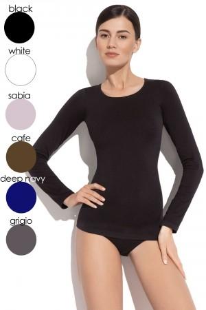 Dámské tričko 2635s black černá