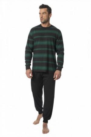 Rossli SAM-PY-125 I Pánské pyžamo XL zelená/grafit