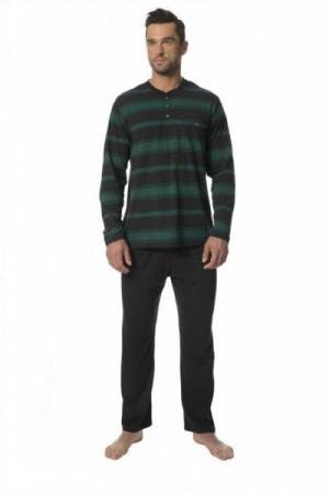 Rossli 125 II pánské pyžamo XL zelená/grafit