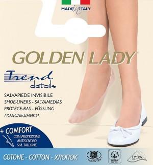 Dámské nízké ponožky Golden Lady Ballerina 6P Cotton A'2