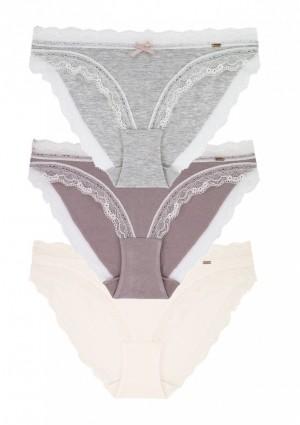 Dámské kalhotky Dorina D00169Y 3PACK L Mix
