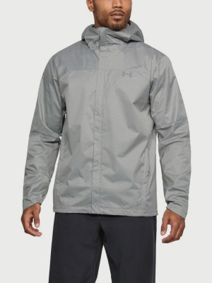 Bunda Under Armour Overlook Jacket Šedá