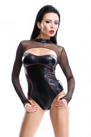 Demoniq Aimi Body XXL černo-červená
