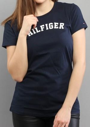 Dámské tričko Tommy Hilfiger UW0UW00091 L Tm. modrá