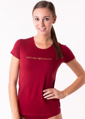 Dámské tričko Emporio Armani 163139 8A225 L Wine