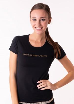 Dámské tričko Emporio Armani 163139 8A225 L Černá