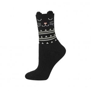 Ponožky Soxo plyšová ouška