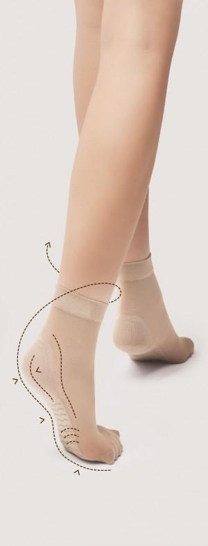 Dámské ponožky Fiore Body Care massage M 1100 20 den