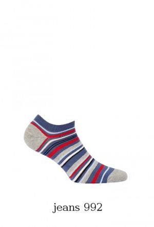 Pánské ponožky Wola Perfect Man W91.N01 ceylan/odstín šedé 39-41