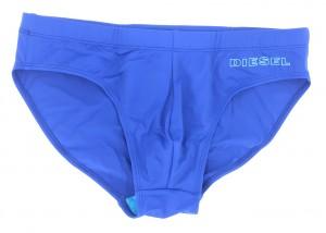 Pánské plavky Jack 00SMNQ-0EAUV-8CR modrá - Diesel modrá
