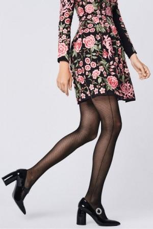 Fiore Oprah 30 Den Punčochové kalhoty 2-S black