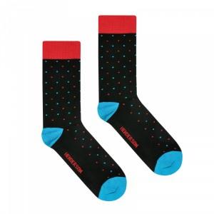 Henderson 36464 Color K001 Pánské ponožky 39-42 černá