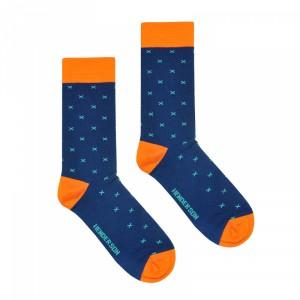 Henderson 36464 Color K007 Pánské ponožky 39-42 tmavě modrá