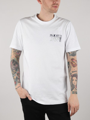 Tričko Lee Graphic Tee White Bílá