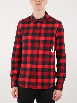 Košile Oakley Icon Flanel Ls Shirt Červená
