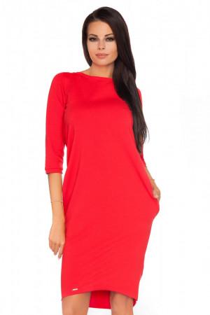Dámské šaty Halina - Tessita  červená