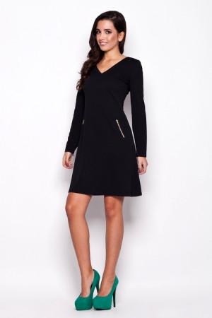 Dámské šaty K078 - Katrus černá