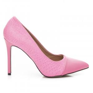 Dámské luxusní lodičky - růžové