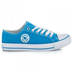 Perfektní modré tenisky v retro designu