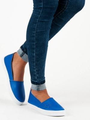 Nazouvací modré tenisky