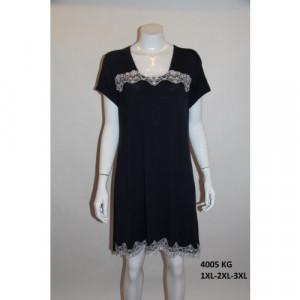 Dámská noční košile 4005 černá - Cocoon Secret černá