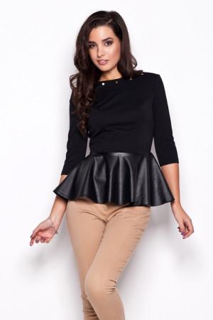 Dámská košile K073 black černá