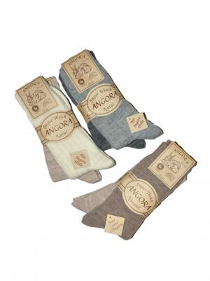 Pánské ponožky Ulpio Angora art.7402 43-46 A'2 c.beżowy-j.beżowy 43-46