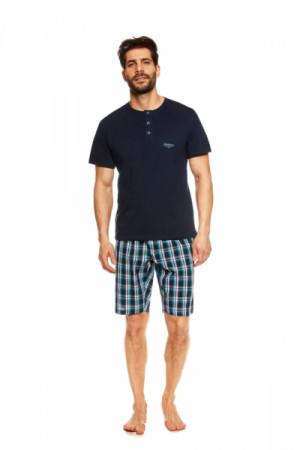 Henderson Urge 36830-59X Tmavě modré Pánské pyžamo L tmavě modrá
