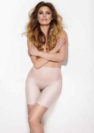 Dlouhé stahovací kalhotky Mitex Glam Form XXL Tělová