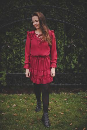 Společenské šaty  model 127215 Jersa