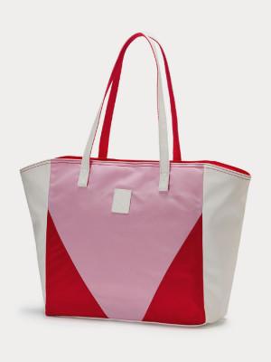Taška Puma Prime Time Large Shopper White-Hibi Barevná