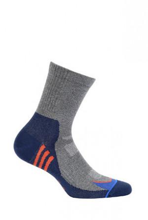 Pánské ponožky Wola Sportive W94.1N5 Ag+ černá 39-41