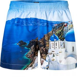 Pánské koupací šortky 61754-457 modrá - Jockey modrá