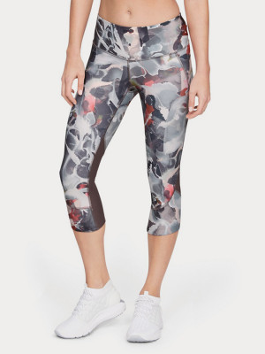 Kompresní legíny Under Armour Fly Fast Printed Capri Barevná