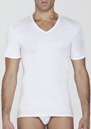 Pánské tričko Pierre Cardin Parigi 3XL Bílá