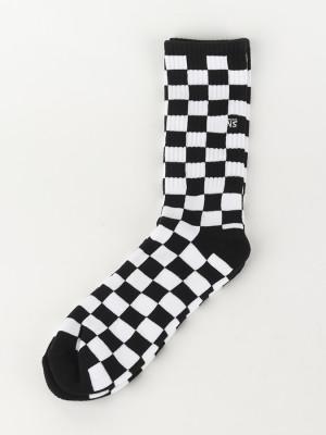 Ponožky Vans Mn Checkerboard Crew Black/White Check Barevná