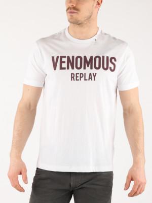 Tričko Replay M3610 T-Shirt Bílá