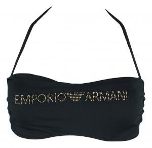 Vrchní díl plavek 262553 9P302 00020 černá - Emporio Armani černá