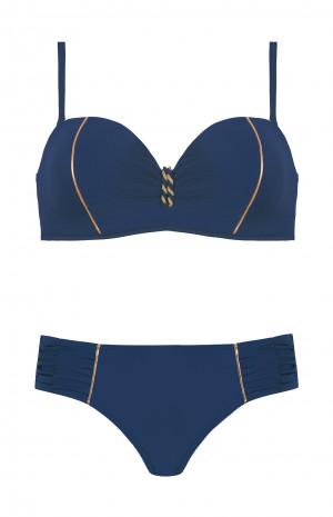Dvoudílné dámské plavky Self S 730 ZL modrofialová 38B-M