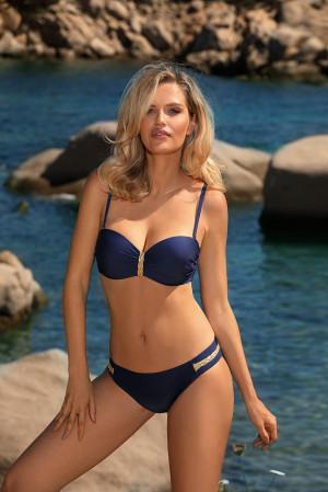 Dvoudílné dámské plavky Self S 770 ZP tmavě modrá 40E-L