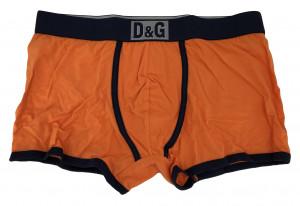 Pánské boxerky M30819 oranžová - Dolce & Gabbana oranžová