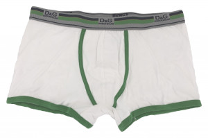 Pánské boxerky M30861 bílá - Dolce & Gabbana bílá