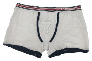Pánské boxerky DGFBM30564 bílá s pruhama - Dolce & Gabbana bílá