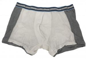 Pánské boxerky DGFBM30760 bílá, šedá - Dolce & Gabbana bílo-šedá