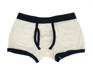 Pánské boxerky M10688 bílo-černé - Dolce Gabbana bílá