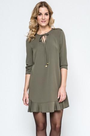 Dámské šaty 240079  - Ennywear khaki